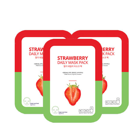 WIMS8 Strawberry Daily Mask Pack